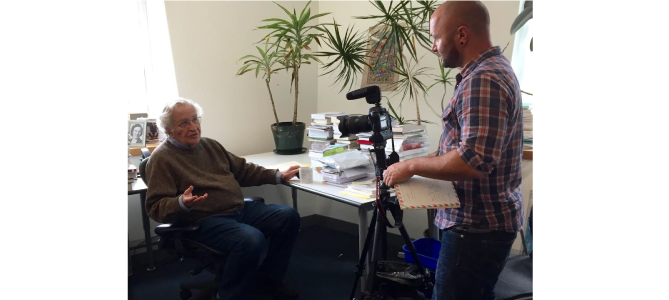 Me-Filming-Chomsky