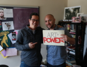 Jeff Chang with Art is Power's Executive Director, Patrice Milillo